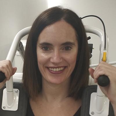Verónica Álvaro cliente Nordic Klinika que ha eliminado su dolor de cuello y espalda